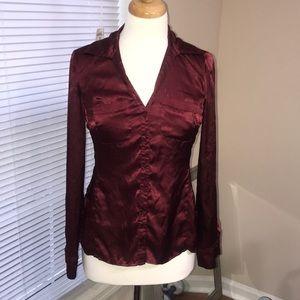 Wine burgundy  blouse by Jones New York